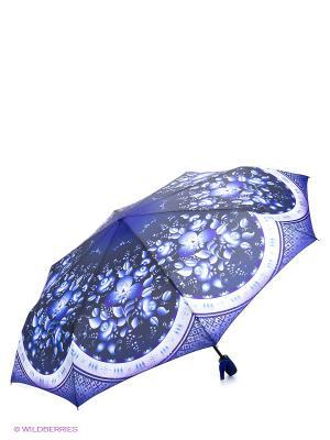 Зонт RAINDROPS. Цвет: синий, фиолетовый