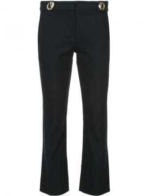 Укороченные брюки клеш Derek Lam 10 Crosby. Цвет: синий