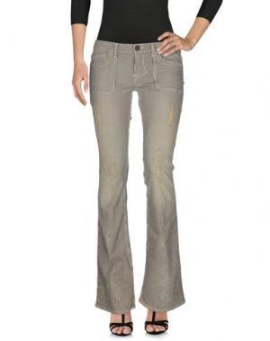 Джинсовые брюки WILLIAM RAST. Цвет: слоновая кость