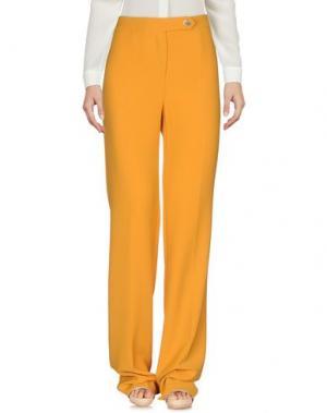 Повседневные брюки ANNARITA N.. Цвет: охра