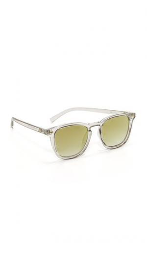 Зеркальные солнцезащитные очки No Biggie Le Specs