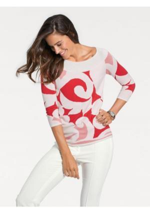 Пуловер PATRIZIA DINI by Heine. Цвет: цветной