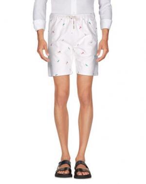 Повседневные шорты ONTOUR. Цвет: белый