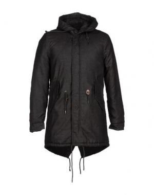 Пальто INDIVIDUAL. Цвет: стальной серый