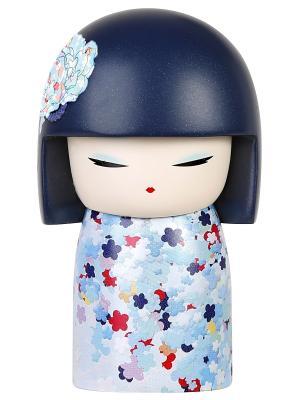 Кукла-талисман Хикари (Энергичность)  Размер mini (6х3,5 см.) Kimmidoll. Цвет: голубой