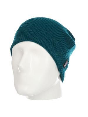 Шапка Emerald DAMN. Цвет: зеленый