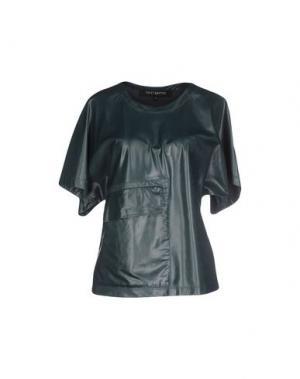 Блузка TER ET BANTINE. Цвет: темно-зеленый