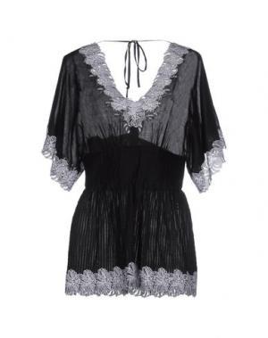 Блузка CATHERINE MALANDRINO. Цвет: черный