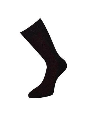 Носки ГРАНД. Цвет: бордовый, черный