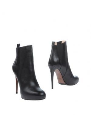 Полусапоги и высокие ботинки LELLA BALDI. Цвет: черный