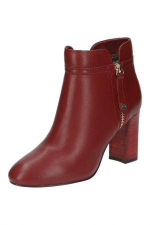 Ботинки Michele. Цвет: красный