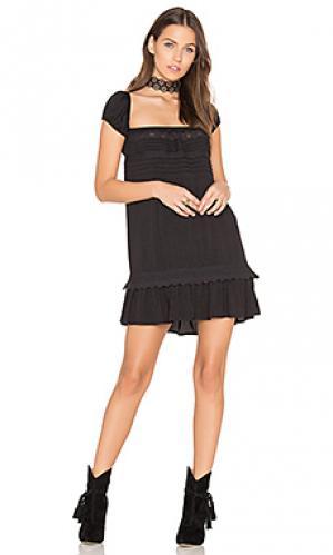Платье desert sun play AUGUSTE. Цвет: черный