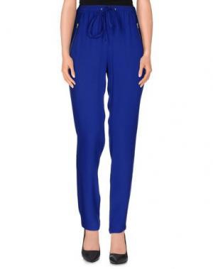 Повседневные брюки YERSE. Цвет: синий