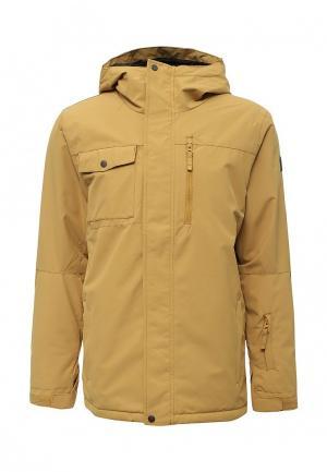 Куртка горнолыжная Quiksilver. Цвет: желтый