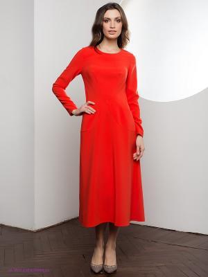 Платье Marlen. Цвет: оранжевый