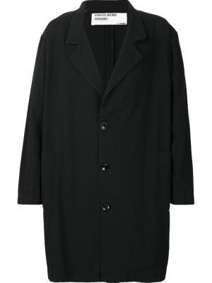 Объемное пальто Enfants Riches Deprimes. Цвет: чёрный