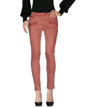 Повседневные брюки AERONAUTICA MILITARE. Цвет: кирпично-красный