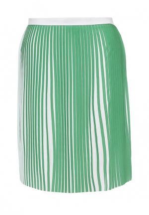 Юбка Silvian Heach. Цвет: зеленый