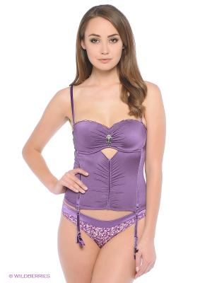 Корсет Lemila lingerie. Цвет: фиолетовый