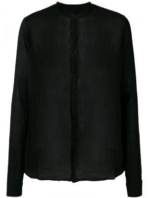 Mandarin neck shirt Poème Bohémien. Цвет: чёрный