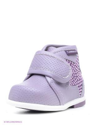 Ботинки Flamingo. Цвет: сиреневый