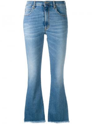 Ingrid cropped jeans +People. Цвет: синий