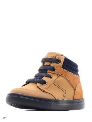 Ботинки Mayoral. Цвет: бежевый