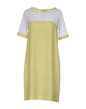 Короткое платье TROU AUX BICHES. Цвет: желтый