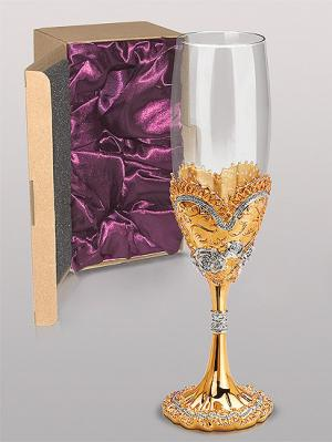 Бокал для вина Win. Цвет: золотистый
