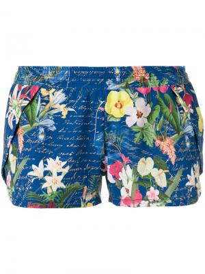 Printed shorts Blue Man. Цвет: многоцветный
