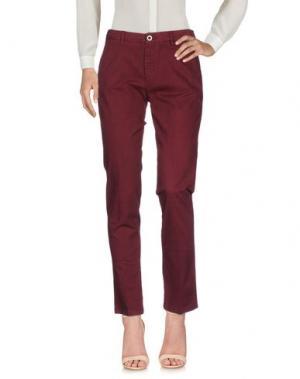 Повседневные брюки SEVEN7. Цвет: красно-коричневый