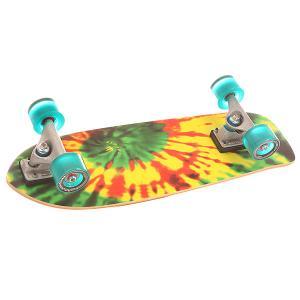 Скейт мини круизер  Cx 5.0 Complete Tye Stick Assorted 6.75 x 25.5 (64.7 см) Carver. Цвет: мультиколор