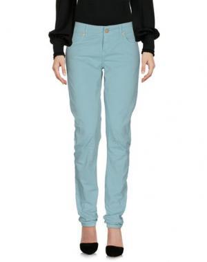 Повседневные брюки GALLIANO. Цвет: светло-зеленый