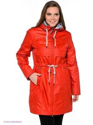 Пальто VIZANI. Цвет: красный