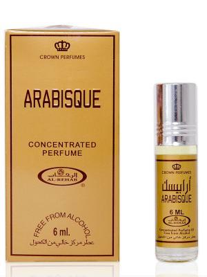 Арабские масляные духи Арабеска (Arabisque), 6 мл Al Rehab. Цвет: коричневый, темно-бежевый