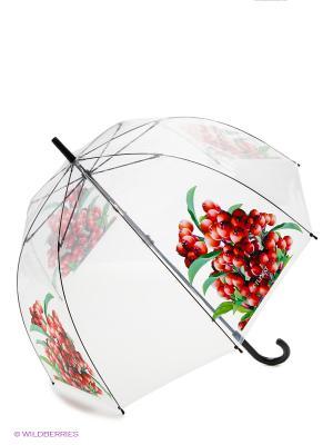 Зонт Flioraj. Цвет: красный, белый