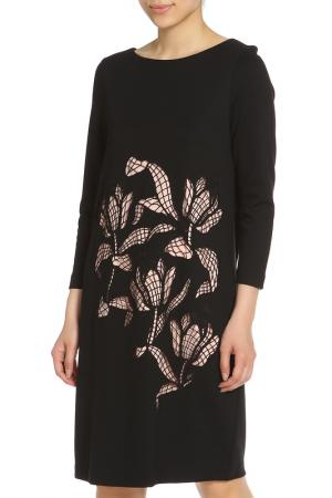 Платье Escada. Цвет: черный, бежевый