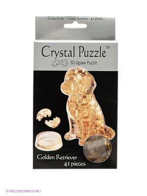 3D головоломка Золотой Ретривер Crystal puzzle. Цвет: золотистый