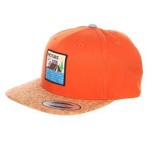 16S SB035 Кепка PO LAKEWOOD Orange Picture Organic. Цвет: бежевый,оранжевый