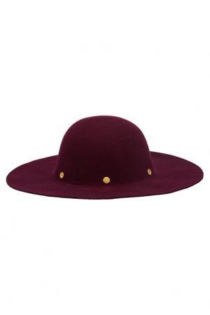 Фетровая шляпа Domo Artesano. Цвет: фиолетовый