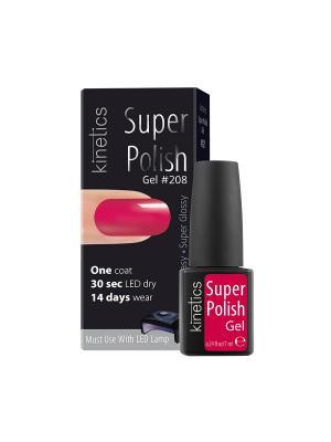 Однофазный гель-лак Super Polish (в коробке) (208) Kinetics. Цвет: розовый
