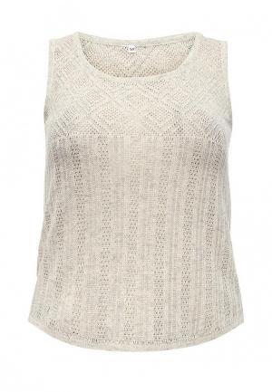 Топ Milana Style. Цвет: серый