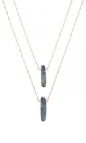 Ожерелье sea of love Natalie B Jewelry. Цвет: металлический золотой