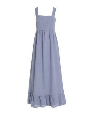 Длинное платье IMPERIAL. Цвет: темно-синий