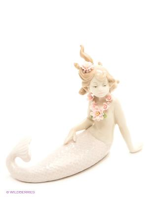 Фигурка Русалка Pavone. Цвет: бледно-розовый, светло-бежевый