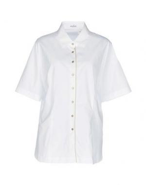 Pубашка VAN LAACK. Цвет: белый