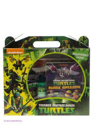 Подарочный набор Черепашки-ниндзя (картонный бокс с ручкой) НД плэй. Цвет: зеленый