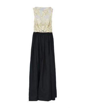 Длинное платье SHI 4. Цвет: платиновый