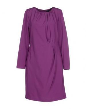 Короткое платье ST-MARTINS. Цвет: фиолетовый