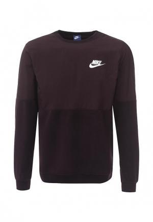 Свитшот Nike. Цвет: фиолетовый